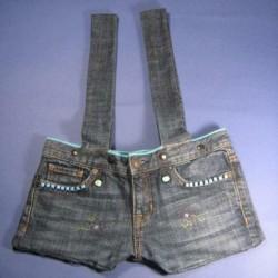 Sac en jean brut