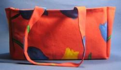 sac à cake rouge tulipe