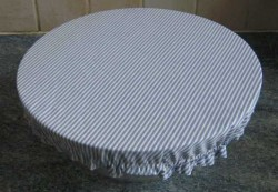 Emballage charlotte couvercle alimentaire lavable en tissu
