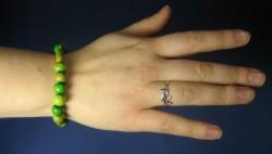 Bracelet de perle en bois
